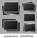 collection of vector blank... | Shutterstock .eps vector #365439464