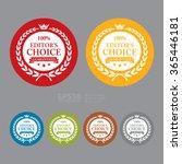 vector   circle 100  editor's...   Shutterstock .eps vector #365446181