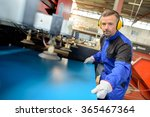 factory worker | Shutterstock . vector #365467364