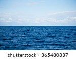 Sky And Water Of Ocean