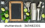 drink making tools and... | Shutterstock . vector #365482331