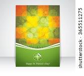 st. patrick's day brochure... | Shutterstock .eps vector #365511275
