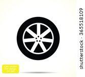 wheel icon   Shutterstock .eps vector #365518109