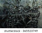 frost on glass pattern   Shutterstock . vector #365523749