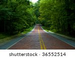 image of a red brick road... | Shutterstock . vector #36552514