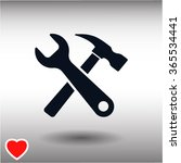 tool icon | Shutterstock .eps vector #365534441