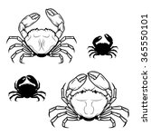 Set Of Crabs Illustrations In...