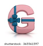 Colorful Letter G Decorated...