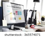 marketing strategy planning... | Shutterstock . vector #365574071