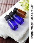 spa aroma oil image | Shutterstock . vector #365576939