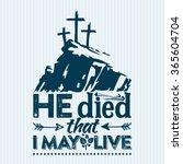 Bible Lettering. Easter.