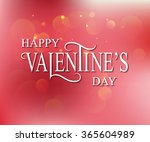 hand drawn valentines day... | Shutterstock .eps vector #365604989