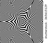 pattern with optical illusion.... | Shutterstock .eps vector #365615129