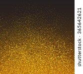 gold dust background | Shutterstock .eps vector #365642621