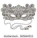 vector  black and white...   Shutterstock .eps vector #365664311