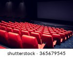 movie theater or cinema empty... | Shutterstock . vector #365679545
