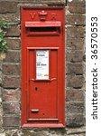 Rustic British Post Box