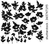 flower illustration object | Shutterstock .eps vector #365747195