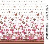 Vertical Seamless Pink Brown...
