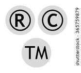 copyright   trademarks   ... | Shutterstock .eps vector #365759879