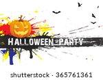 halloween | Shutterstock . vector #365761361