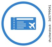 airticket vector icon. style is ... | Shutterstock .eps vector #365799041