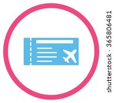 airticket vector icon. style is ... | Shutterstock .eps vector #365806481