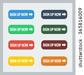 colorful sign up now button...