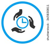 time care vector icon. style is ... | Shutterstock .eps vector #365830811