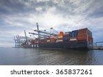 rotterdam  netherlands   june... | Shutterstock . vector #365837261