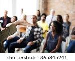 audience brainstorming... | Shutterstock . vector #365845241