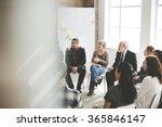 business group seminar meeting...   Shutterstock . vector #365846147