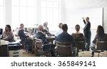 business people meeting... | Shutterstock . vector #365849141