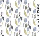 trendy vector seamless pattern... | Shutterstock .eps vector #365884001