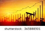 3d illustration of oil pump... | Shutterstock . vector #365888501