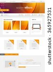 website template for your... | Shutterstock .eps vector #365927531