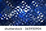 abstract blue creative...   Shutterstock . vector #365950904