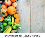 organic food  local produce ...   Shutterstock . vector #365975459