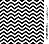 white and black seamless zigzag.... | Shutterstock .eps vector #366003674
