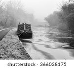 Narrow Boat Moored Up On A...