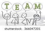 work together   vector... | Shutterstock .eps vector #366047201