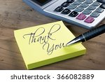 """yellow sticky note with """"thank... 