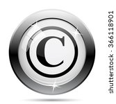 Copyright Icon. Internet Butto...