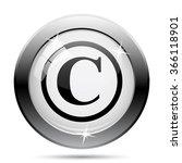 Copyright Icon. Internet Butto...