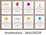 corporate identity vector... | Shutterstock .eps vector #366120239