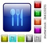 set of restaurant color glass...