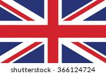 united kingdom flag | Shutterstock .eps vector #366124724
