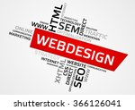 webdesign word cloud  tag cloud ...