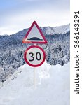 road sign | Shutterstock . vector #366143291