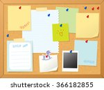 Cork Board   Note Vector...